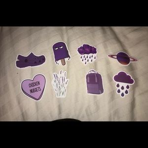 Purple VSCO Stickers 💜🔮